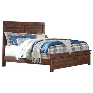 Signature Design by Ashley Hammerstead King Storage Bed