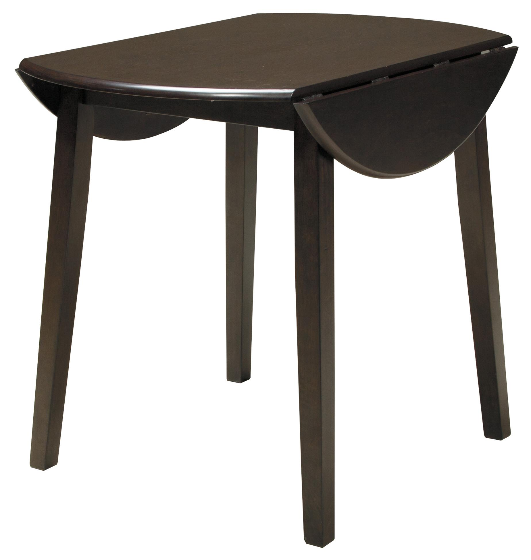 Signature Design by Ashley Hammis Round Dining Room Drop Leaf Table - Item Number: D310-15