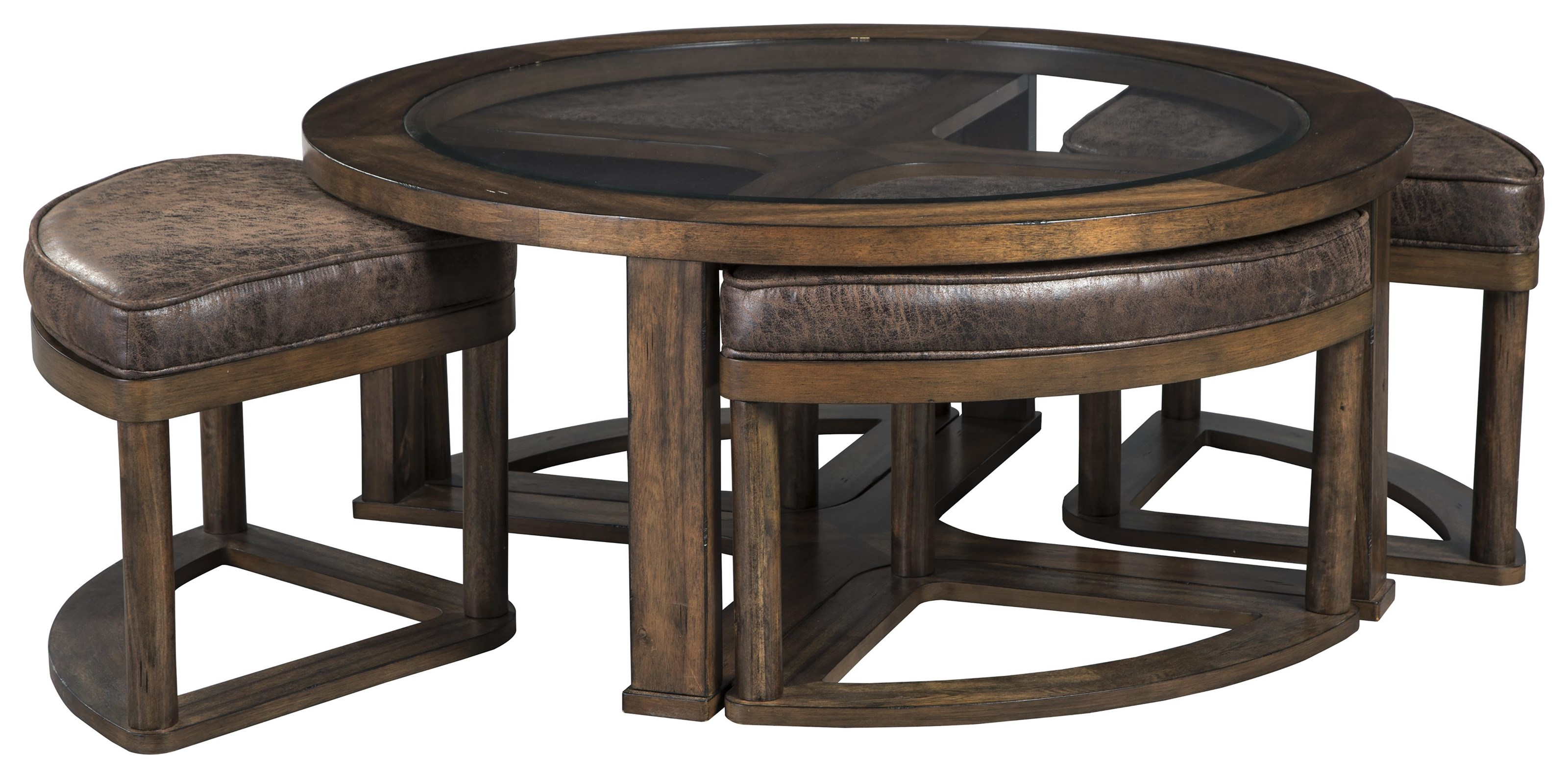 Hannery T725 8 2x6 Round Tail Table
