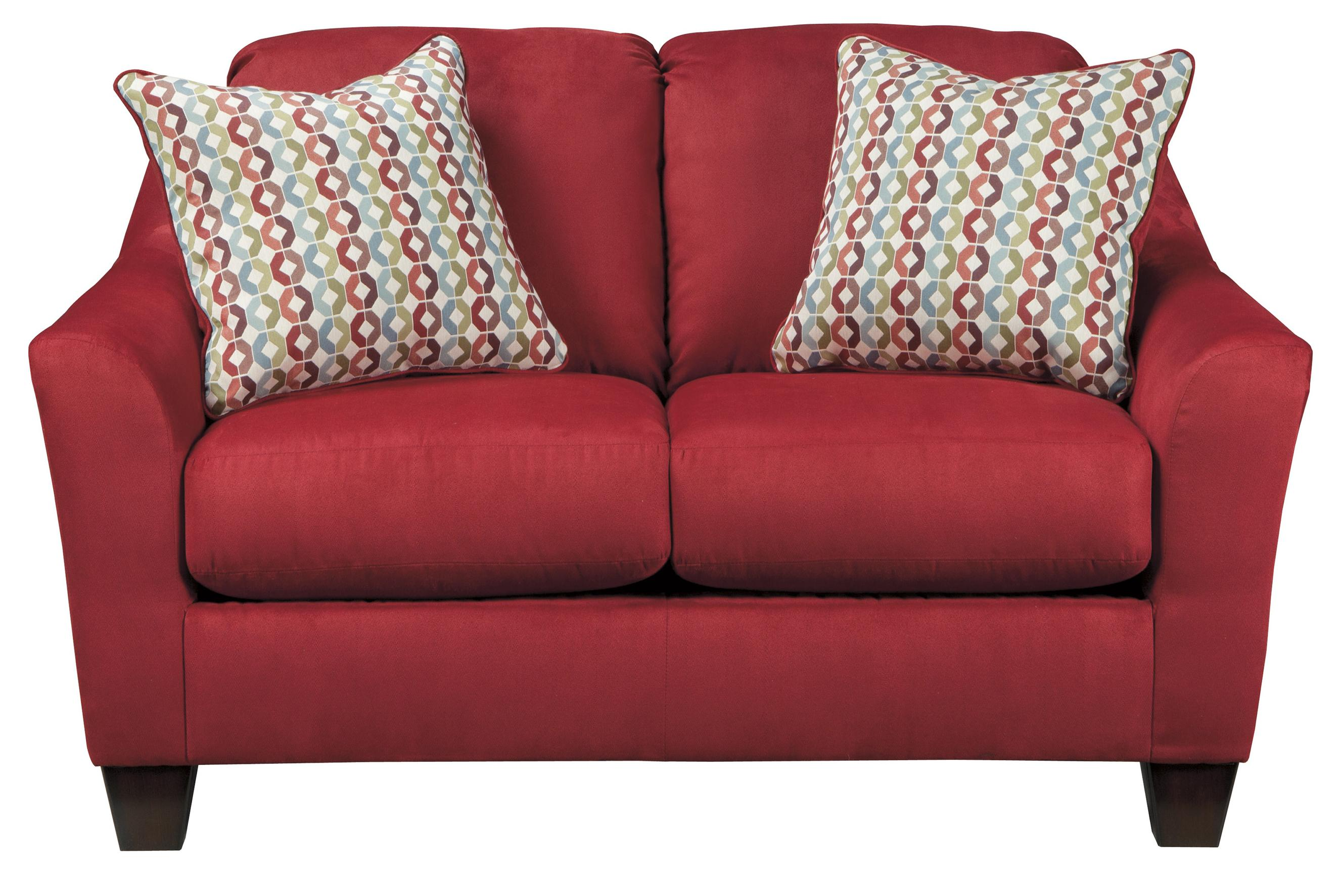 Signature Design by Ashley Hannin - Spice Loveseat - Item Number: 9580135