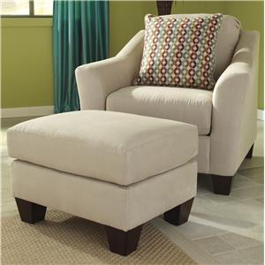 Signature Design by Ashley Hannin - Stone Chair & Ottoman