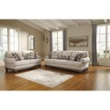 Signature Design by Ashley Harleson Stationary Living Room Group - Item Number: 15104 Living Room Group 1