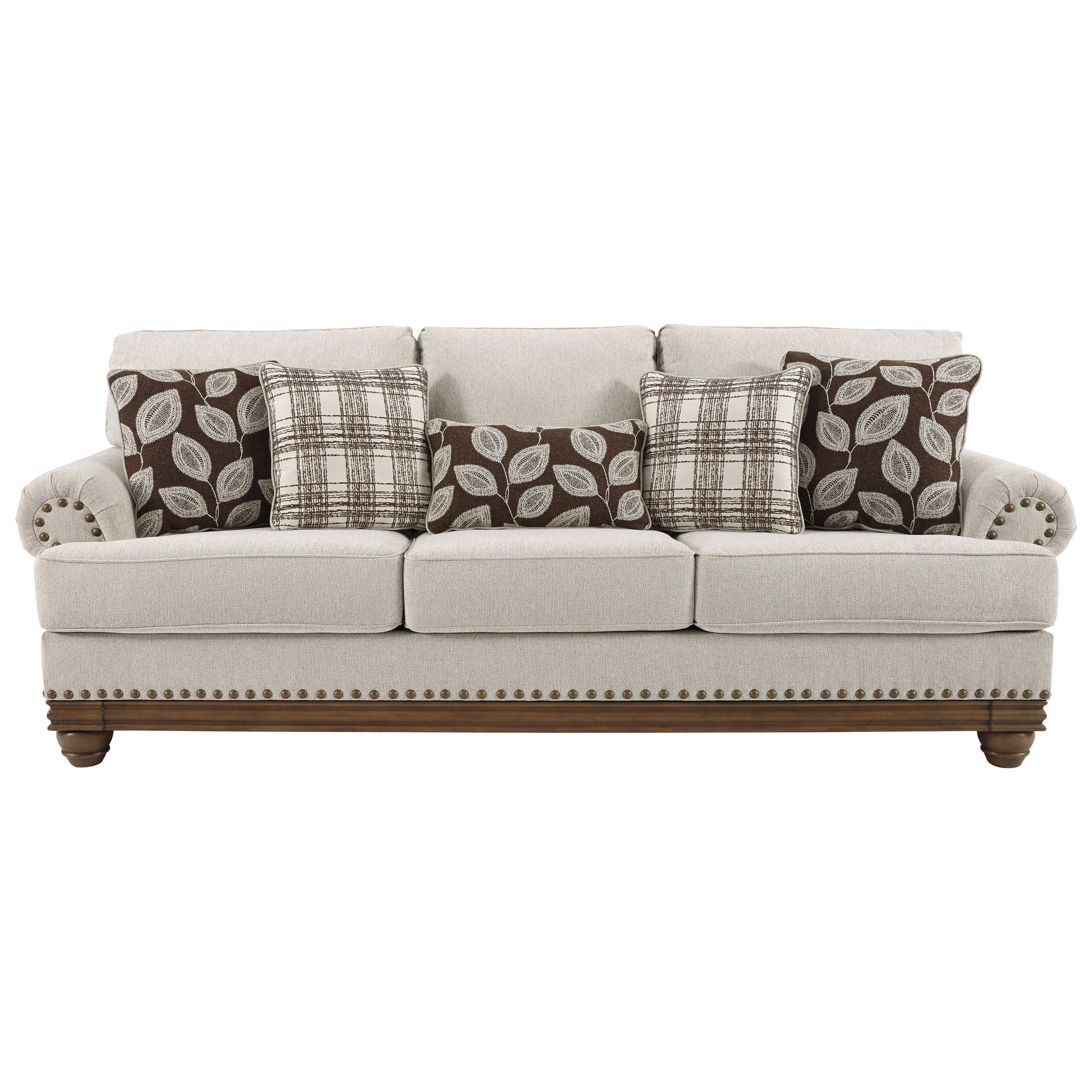 Ashley Furniture Sofas: Signature Design By Ashley Harleson Transitional Sofa With