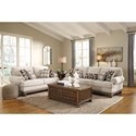 Signature Design by Ashley Harleson Transitional Sofa with Nailhead Trim