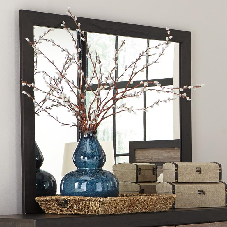 Signature Design by Ashley Harlinton Bedroom Mirror - Item Number: B325-36