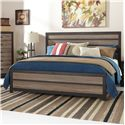 Signature Design by Ashley Harlinton King Panel Bed - Item Number: B325-58+56+97