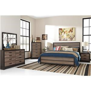 Signature Design by Ashley Harlinton Harlinton Queen Bedroom Group by Signature D