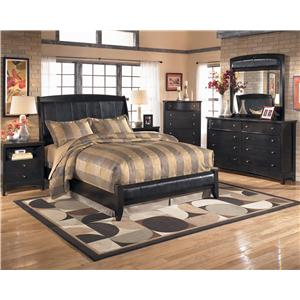 Signature Design by Ashley Harmony 4 Piece Bedroom Group