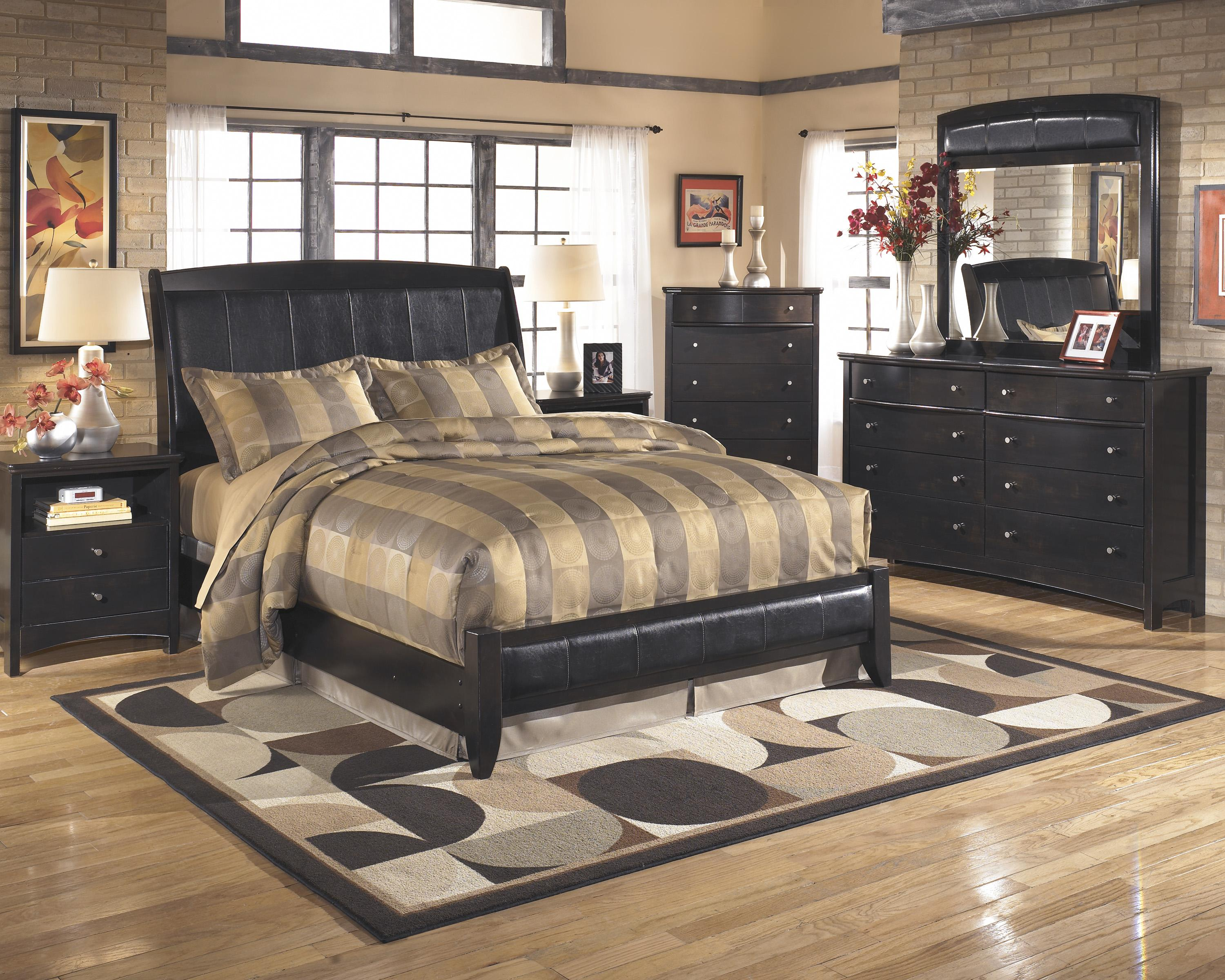 Signature Design by Ashley Harmony Queen Bedroom Group - Item Number: B208 Q Bedroom Group 1