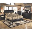 Signature Design by Ashley Harmony King Bedroom Group - Item Number: B208 K Bedroom Group 1