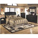 Signature Design by Ashley Harmony King Bedroom Group - Item Number: B208 K Bedroom Group 3