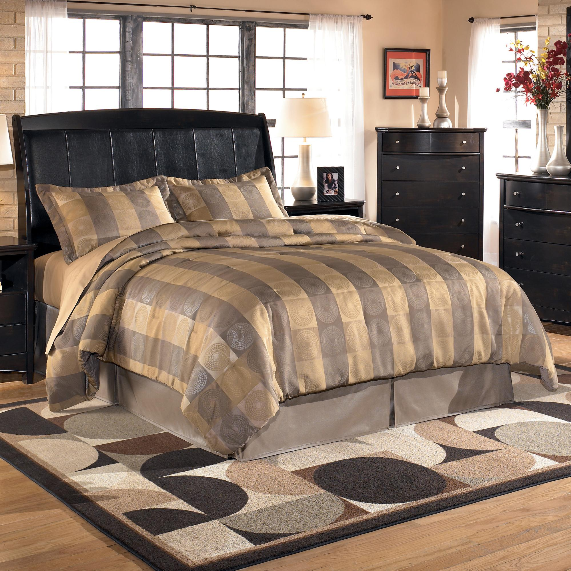 Signature Design by Ashley Harmony King Sleigh Headboard (RTA) - Item Number: B208-78