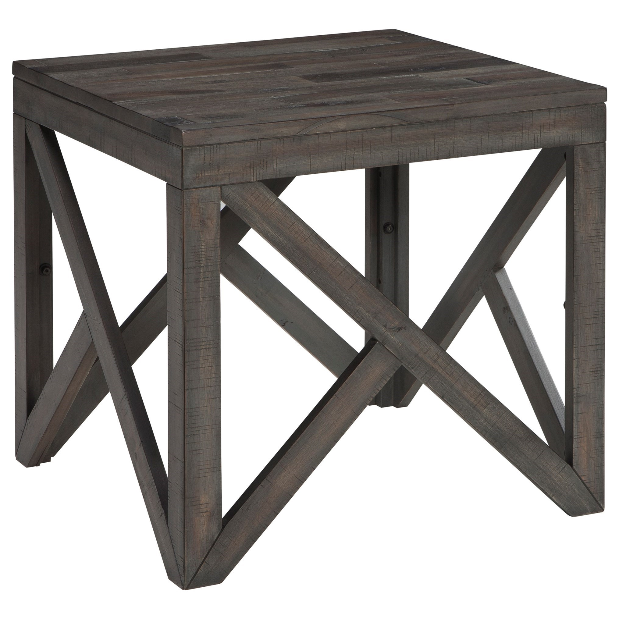 Signature Design by Ashley Haroflyn Square End Table - Item Number: T329-2