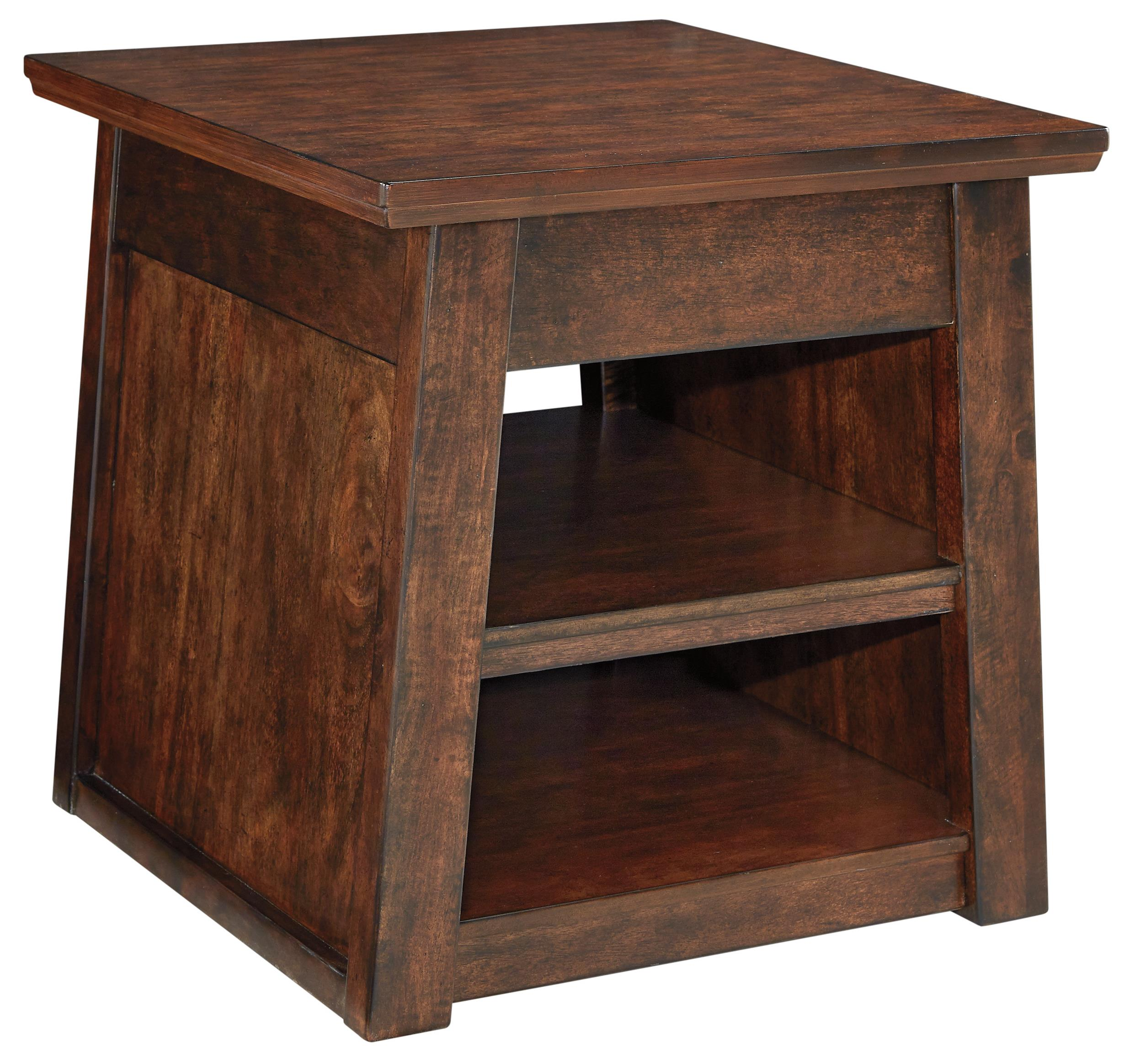 Signature Design by Ashley Harpan Rectangular End Table - Item Number: T797-3