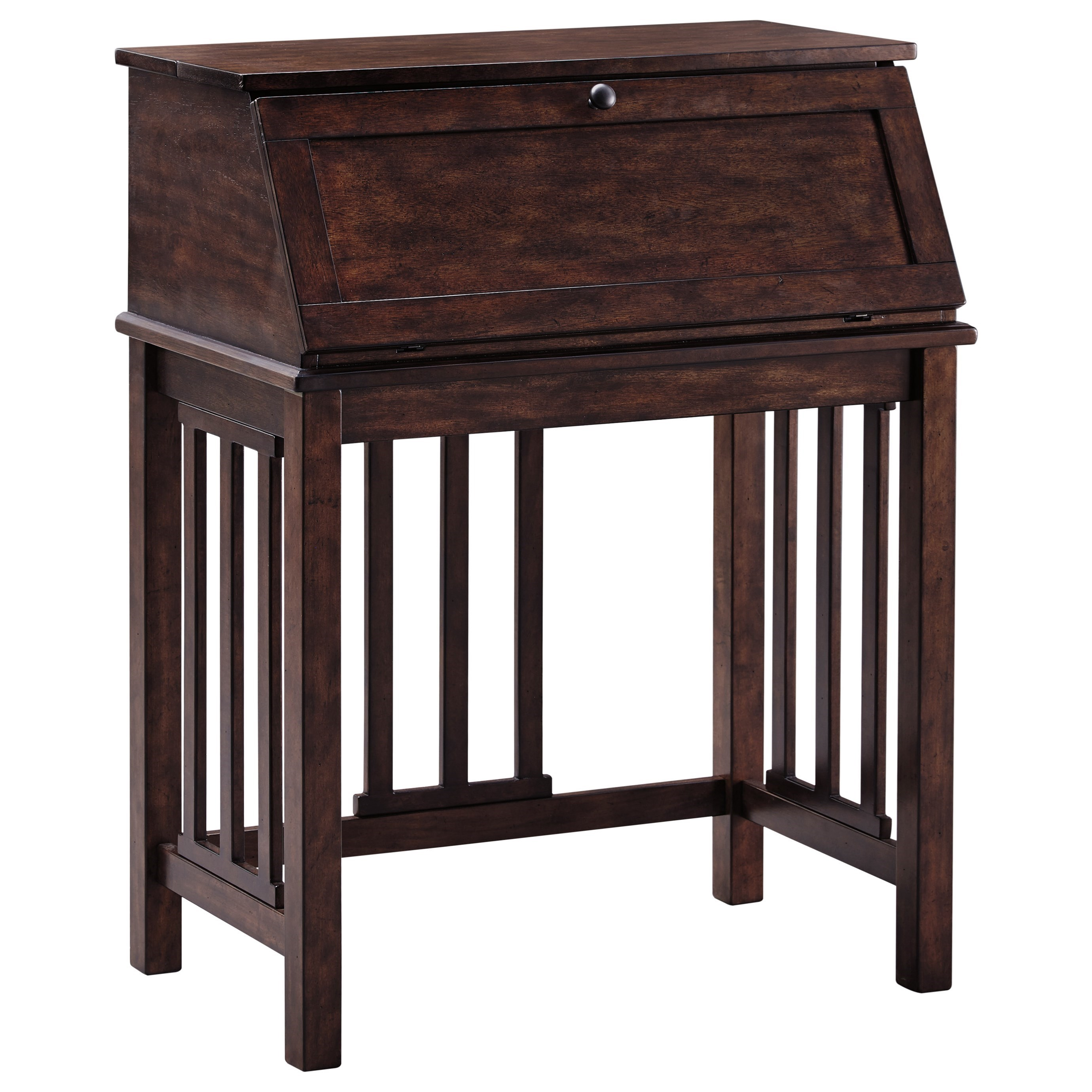 Signature Design by Ashley Harpan Home Office Drop Front Desk - Item Number: H797-19