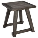 Signature Design by Ashley Harpoli Square End Table - Item Number: T426-2