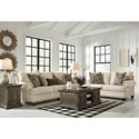 Signature Design by Ashley Harrietson Stationary Living Room Group - Item Number: 76604 Living Room Group 1