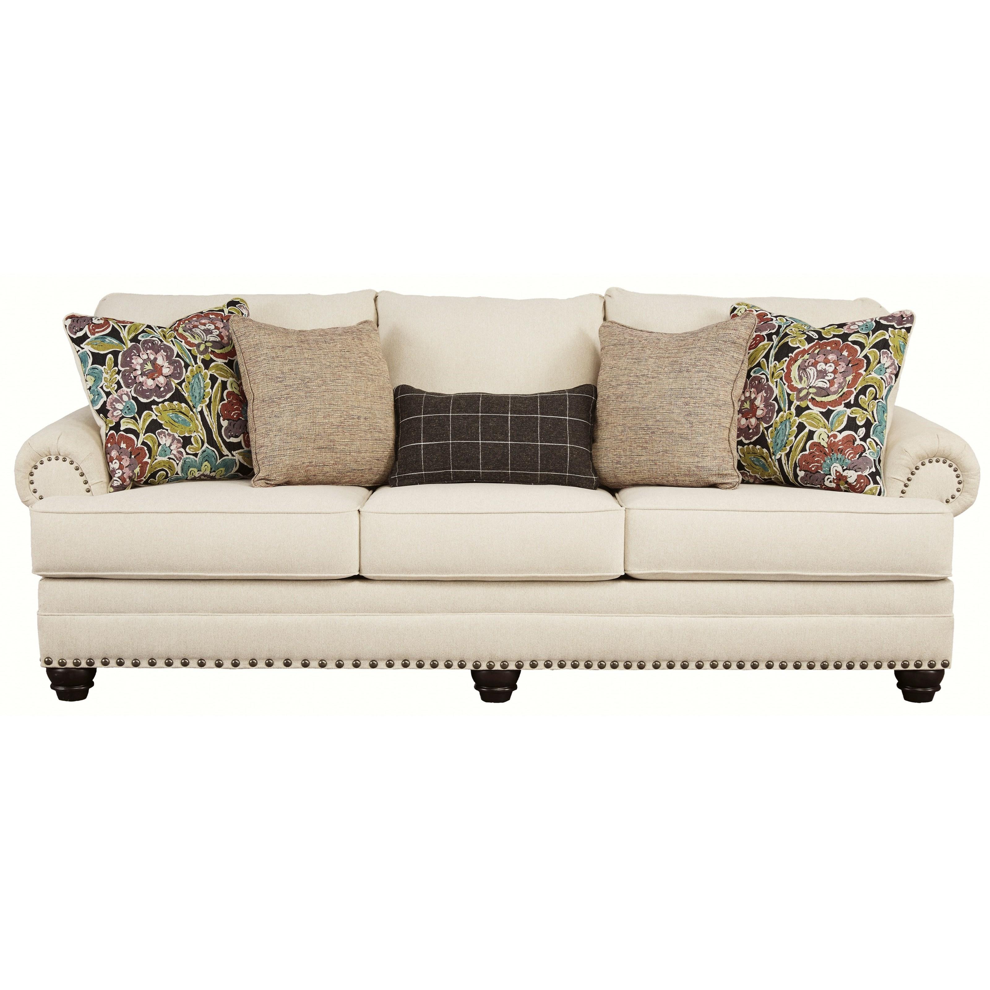 Ashley Signature Design Harrietson Traditional Sofa With