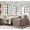 Signature Design by Ashley Harrietson Queen Sofa Sleepr - Item Number: 7660439