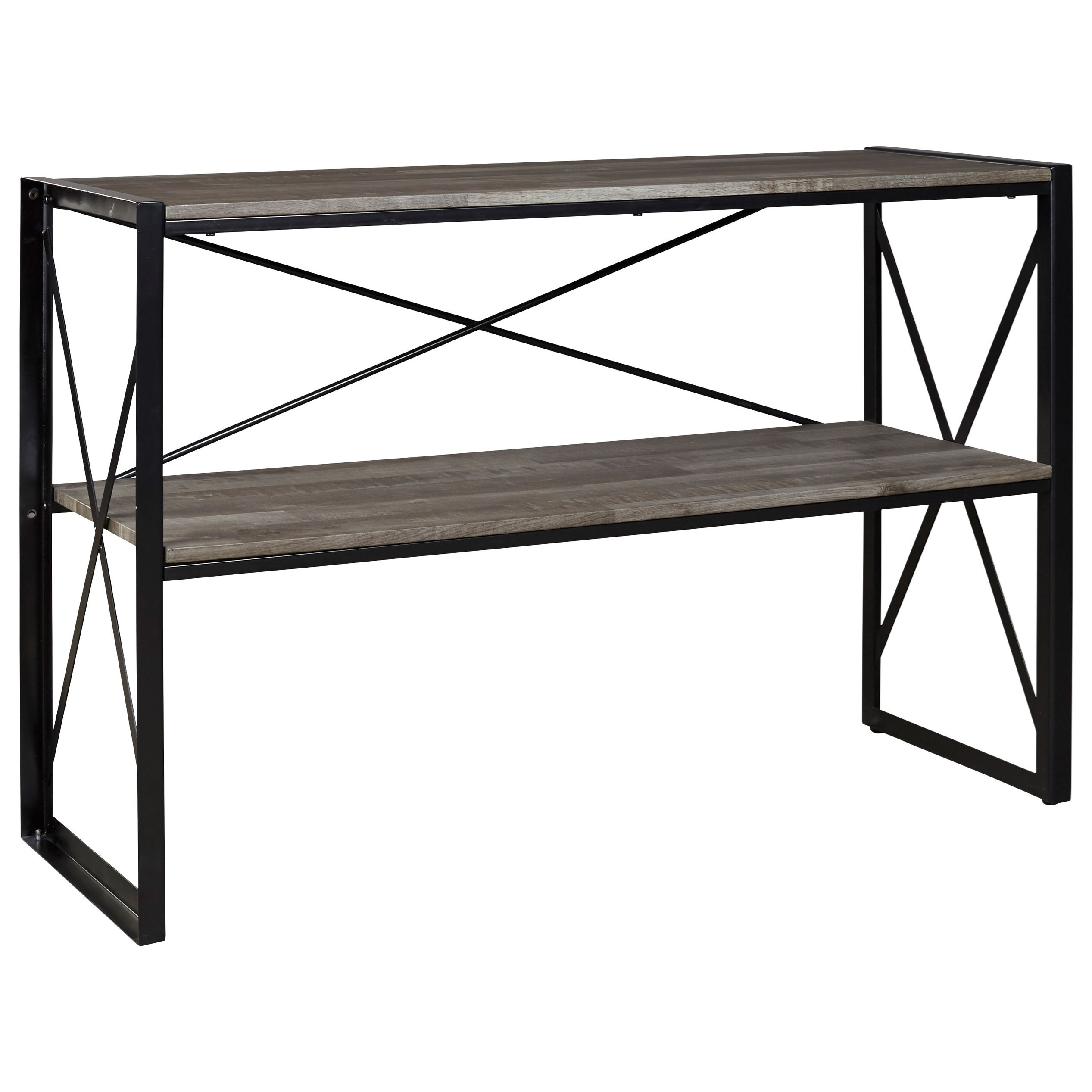 Signature Design by Ashley Harzoni Contemporary Sofa Table with ...