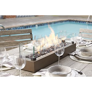 Signature Design by Ashley Hatchlands Table Top Fire Bowl