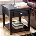 Signature Design by Ashley Hatsuko Rectangular End Table - Item Number: T864-3