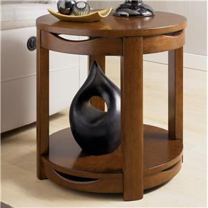 Signature Design by Ashley Hawkstone Round End Table