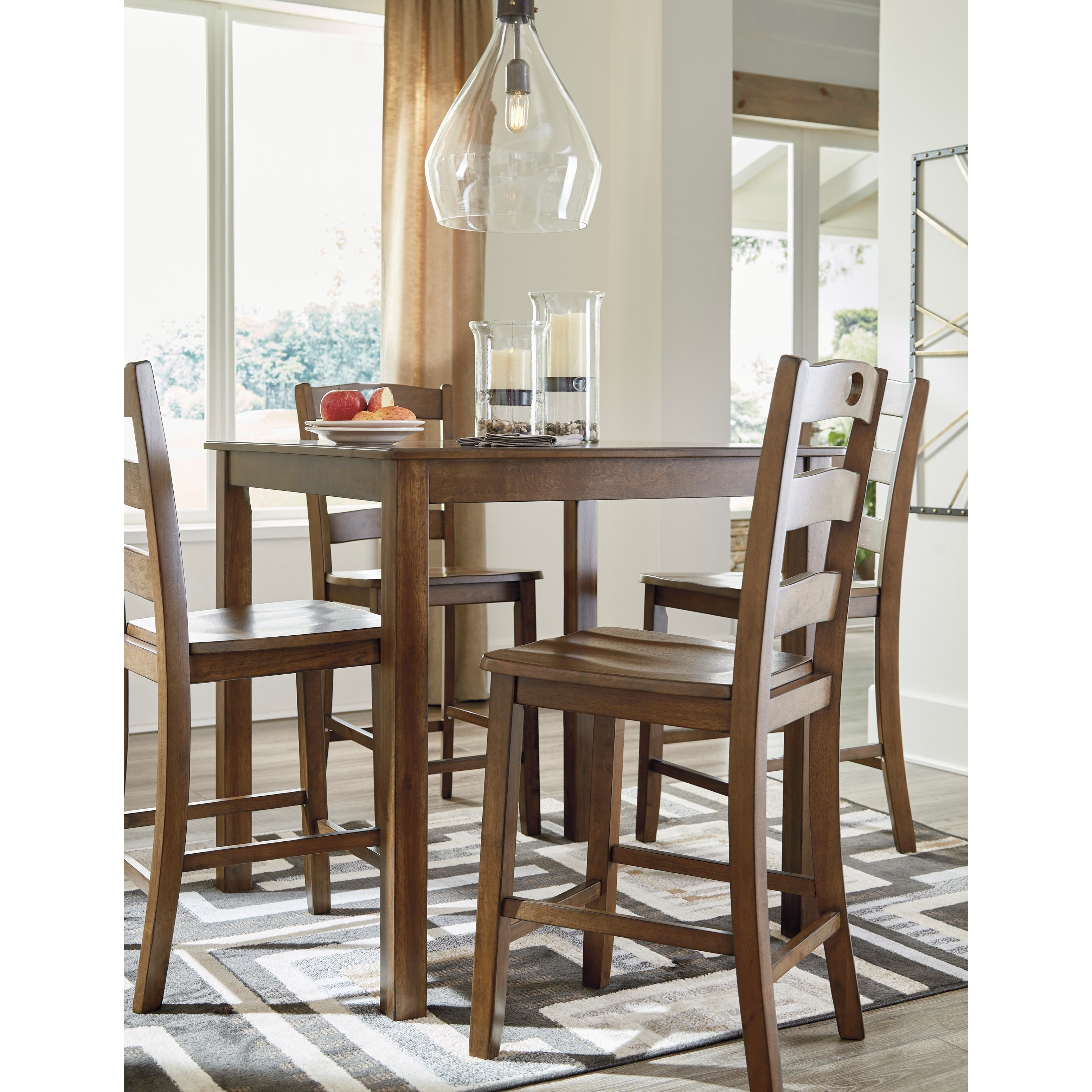 Signature Design By Ashley Hazelteen Counter Height Dining