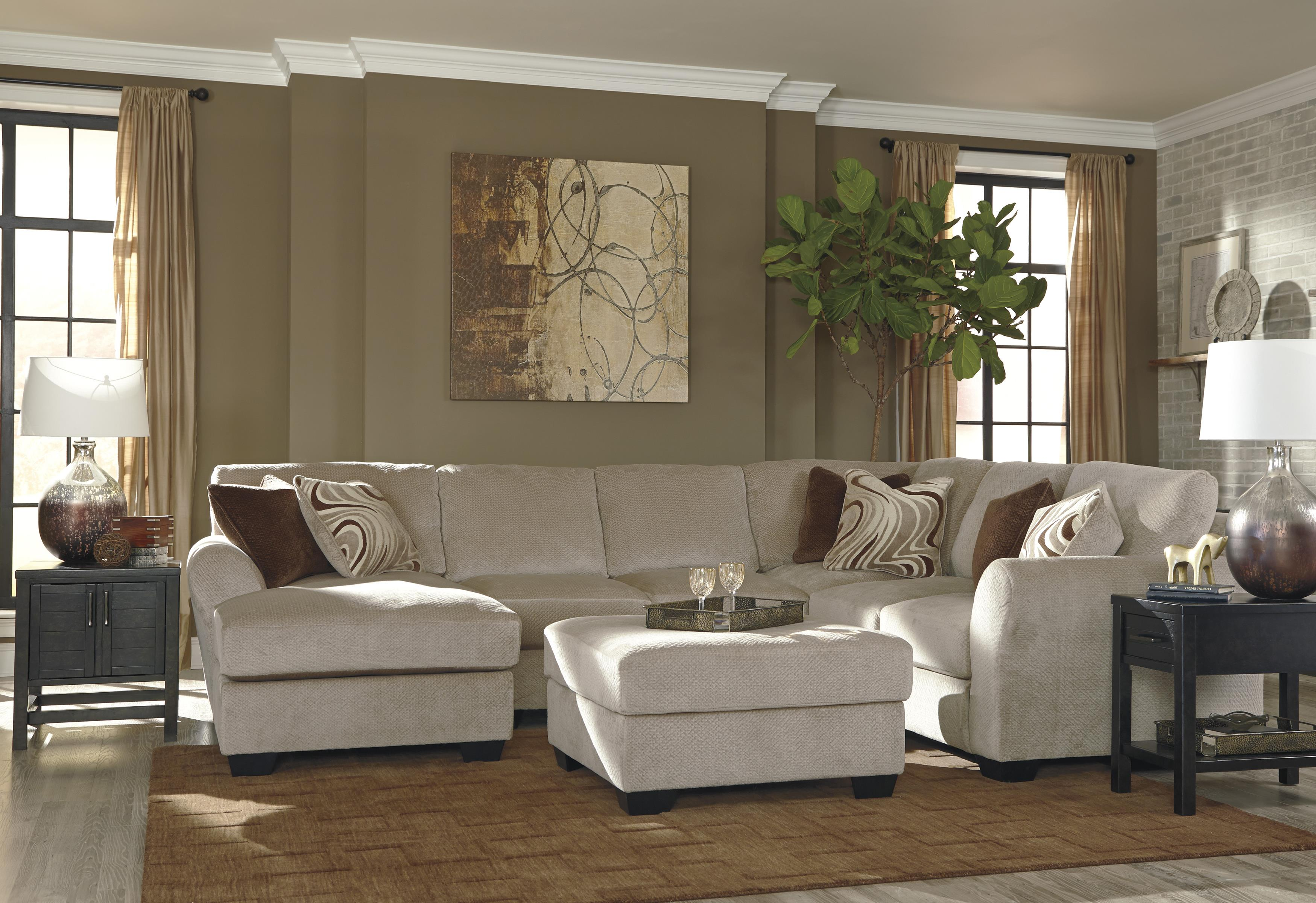 Ashley/Benchcraft Hazes Stationary Living Room Group - Item Number: 65701 Living Room Group 2