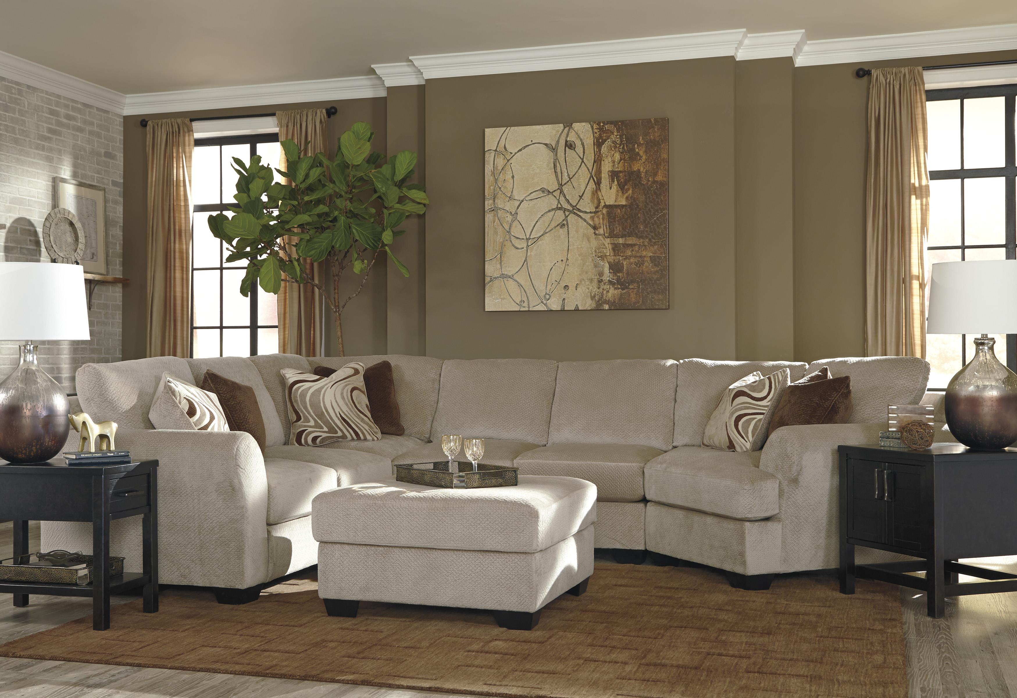 Ashley/Benchcraft Hazes Stationary Living Room Group - Item Number: 65701 Living Room Group 3