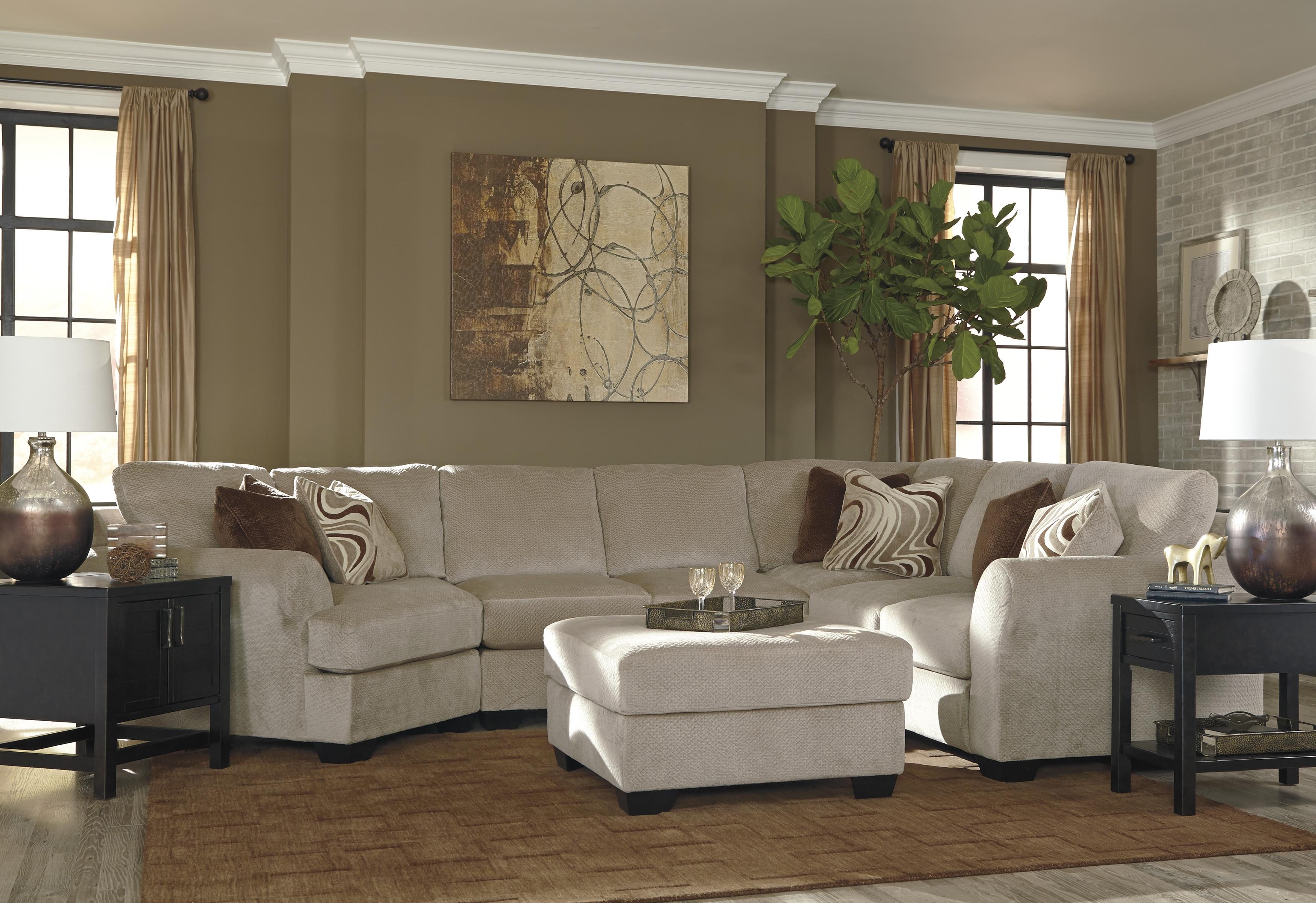Benchcraft Hazes Stationary Living Room Group - Item Number: 65701 Living Room Group 4