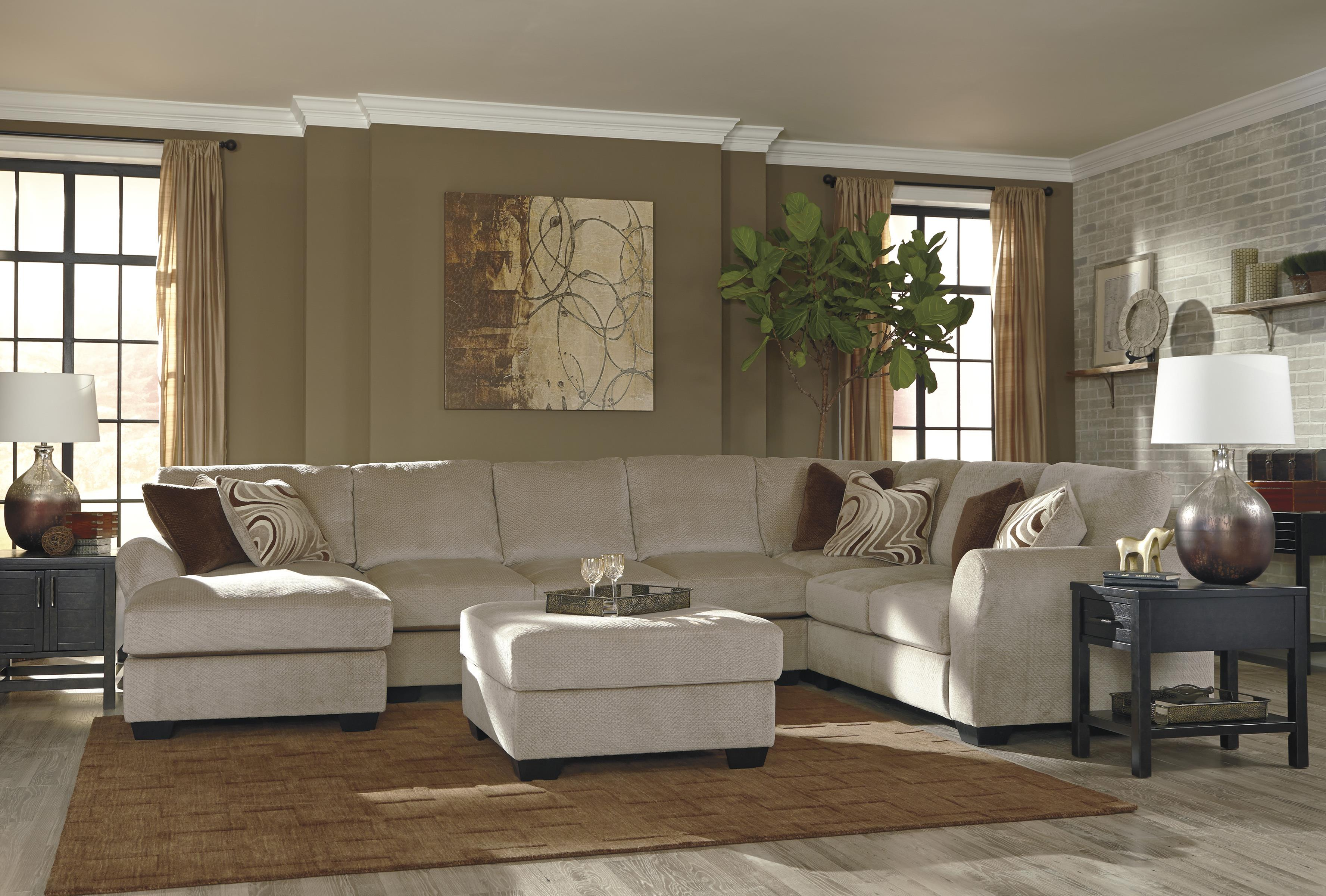 Benchcraft Hazes Stationary Living Room Group - Item Number: 65701 Living Room Group 6