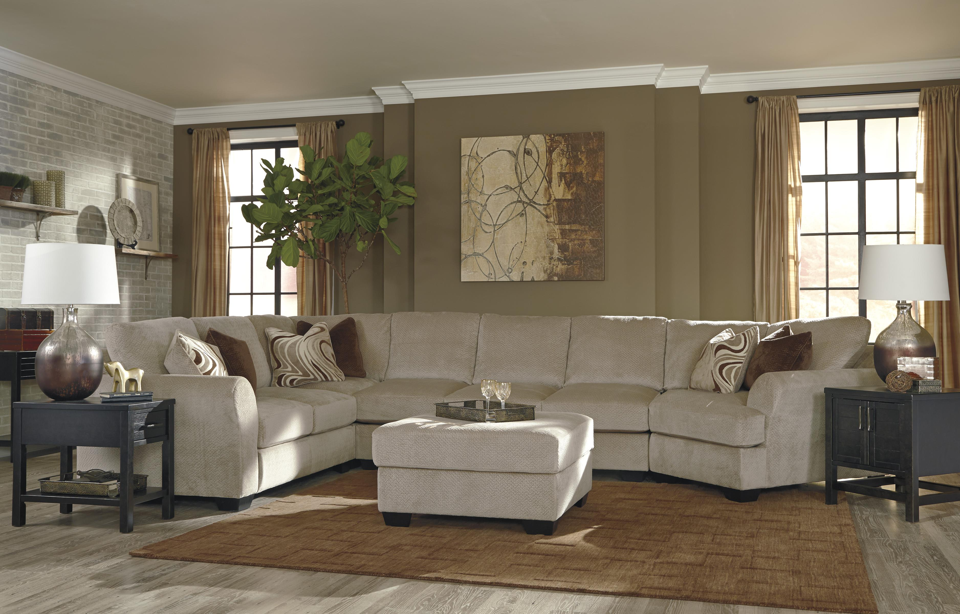 Benchcraft Hazes Stationary Living Room Group - Item Number: 65701 Living Room Group 7