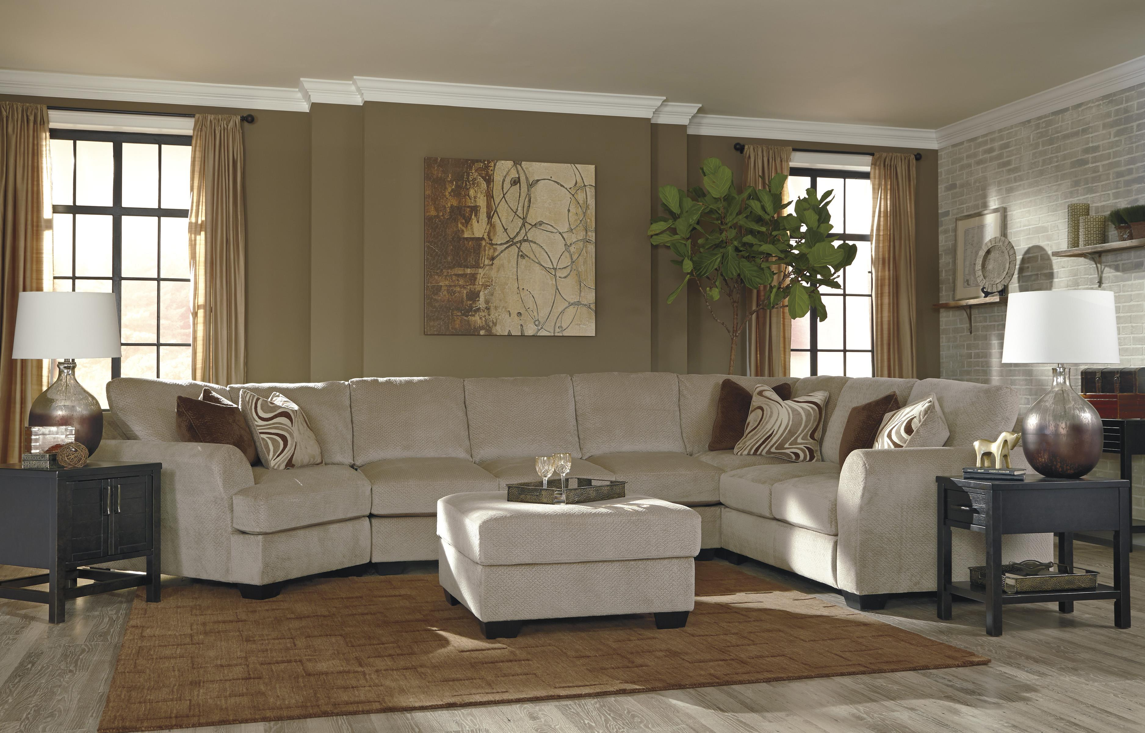 Ashley/Benchcraft Hazes Stationary Living Room Group - Item Number: 65701 Living Room Group 8
