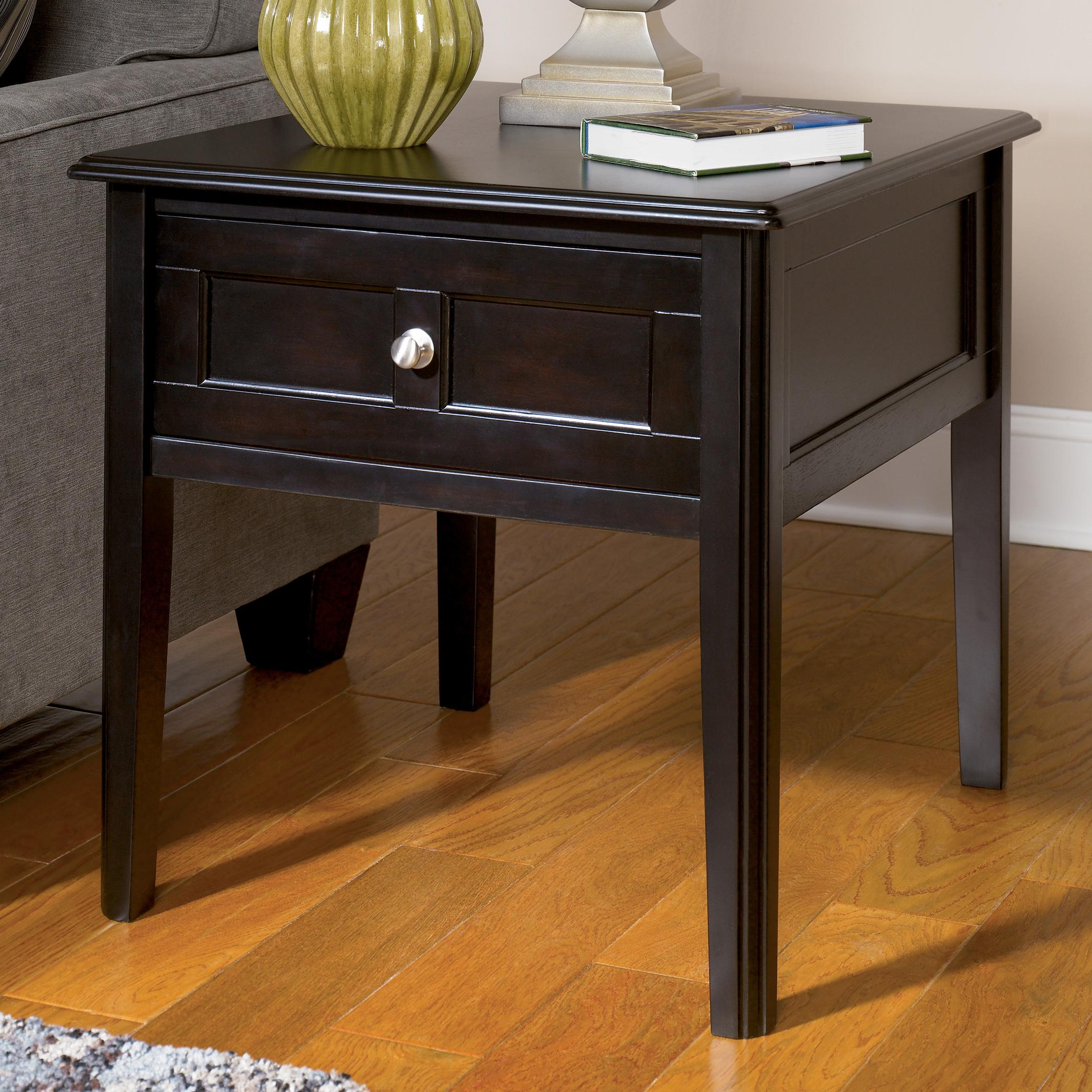 Signature Design by Ashley Henning Rectangular End Table - Item Number: T479-3