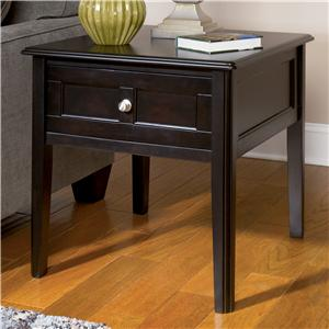 Signature Design by Ashley Henning Rectangular End Table