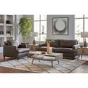 Signature Design by Ashley Hettinger Stationary Living Room Group - Item Number: 49501 Living Room Group 2