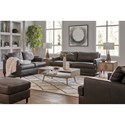 Signature Design by Ashley Hettinger Stationary Living Room Group - Item Number: 49501 Living Room Group 3
