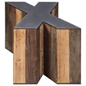 Signature Design by Ashley Highmender X-Shaped Accent Table