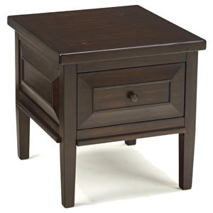 Signature Design by Ashley Furniture Hindell Park Square End Table