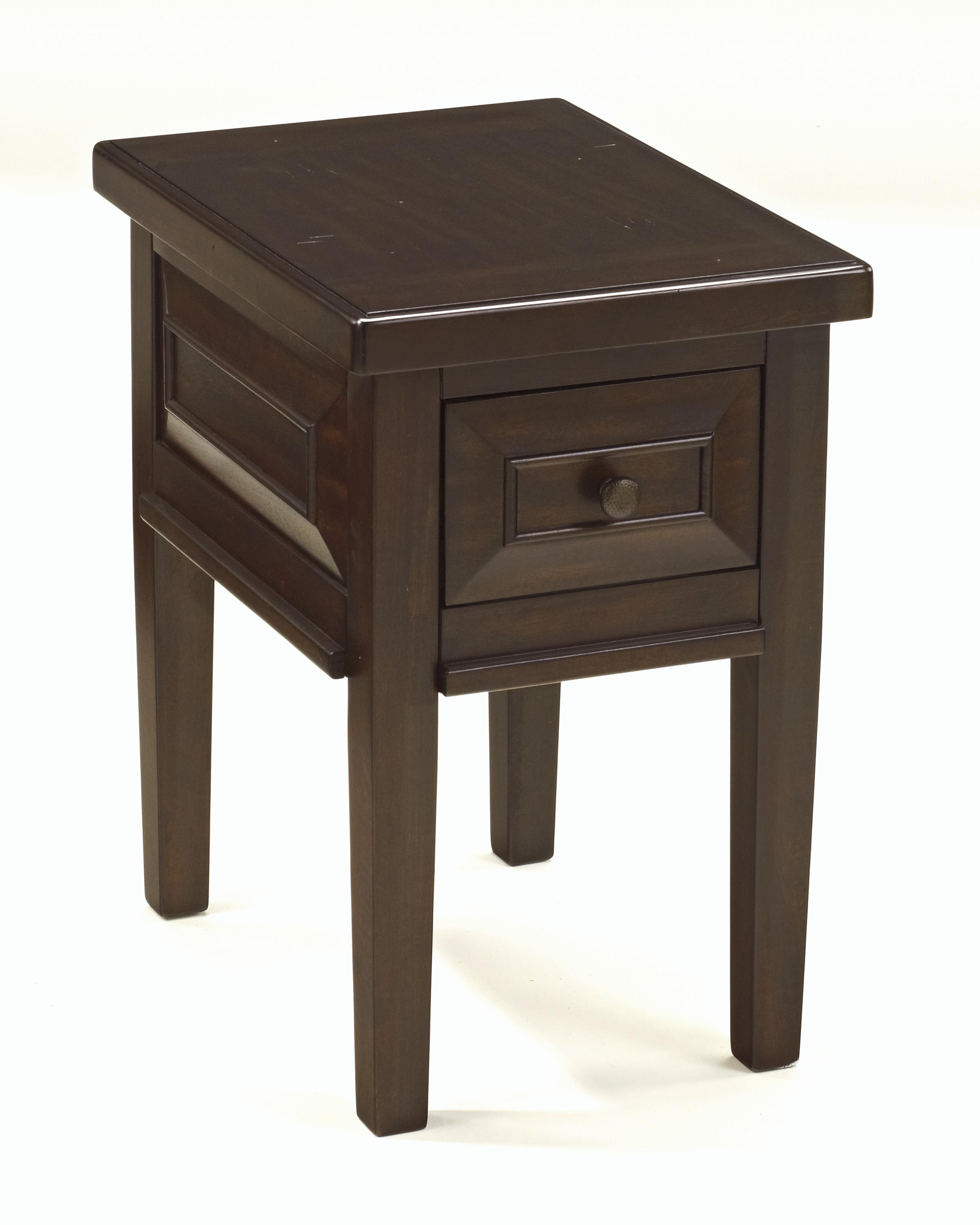 Signature Design by Ashley Hindell Park Chair Side End Table - Item Number: T695-7