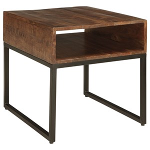 Signature Design by Ashley Hirvanton Rectangular End Table