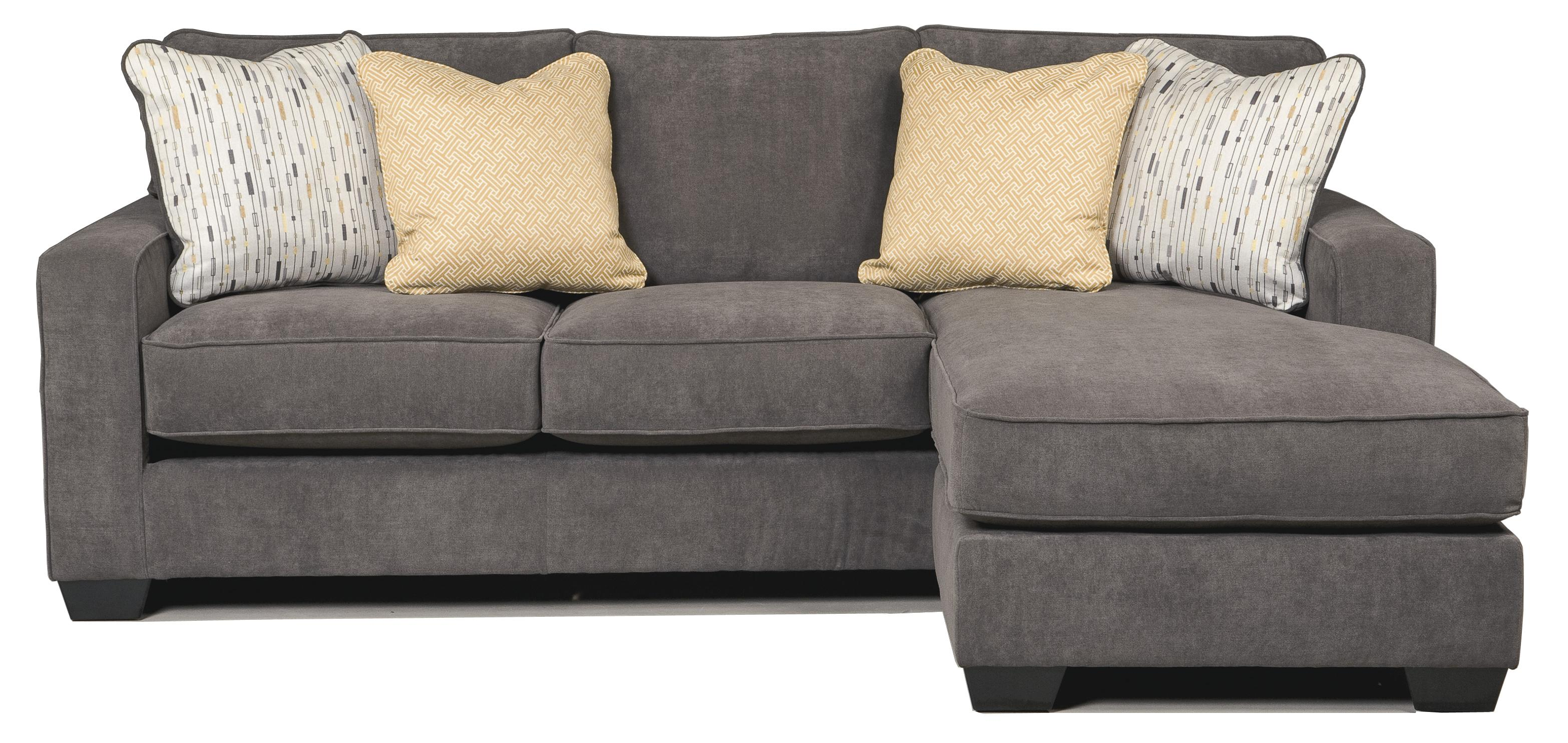 Harper Contemporary Sofa Chaise with Track Arms & Left or Right  Configurable Chaise by Trendz at Ruby Gordon Home