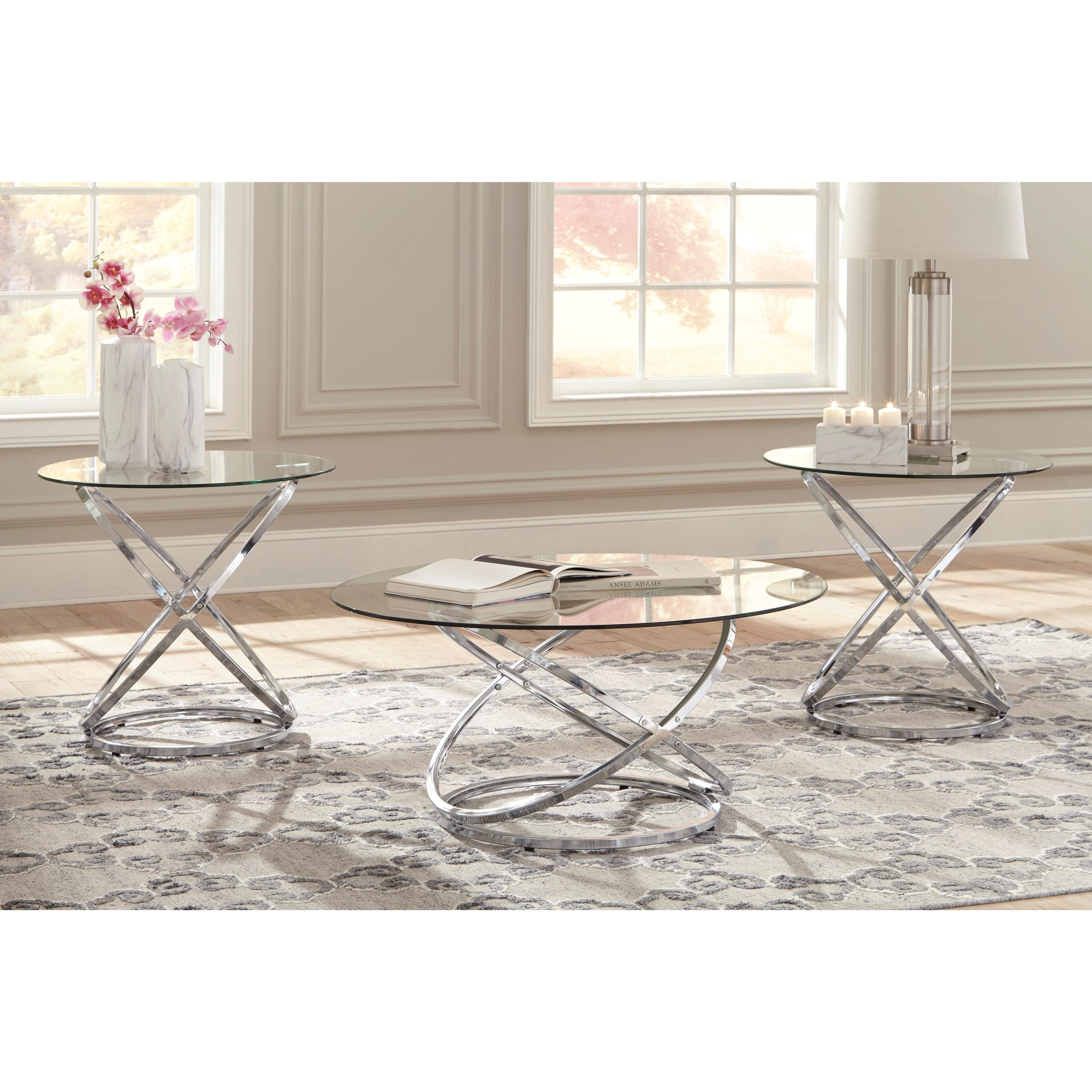 Signature Design By Ashley Hollynyx Occasional Table Set