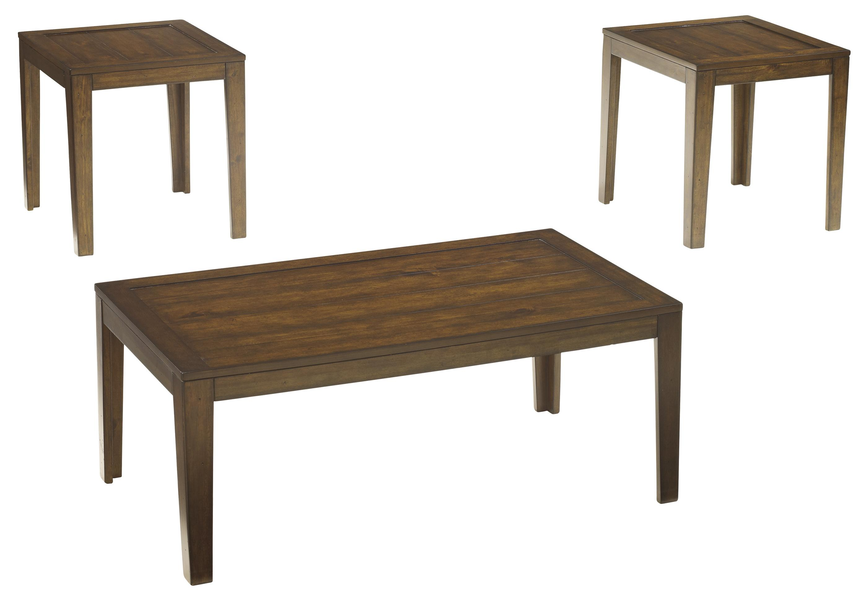 Signature Design by Ashley Hollytyne 3-Piece Occasional Table Set - Item Number: T228-13
