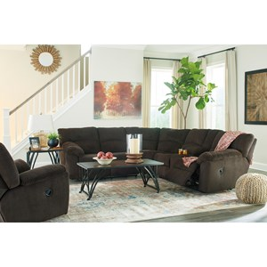 Benchcraft Hopkinton Reclining Living Room Group