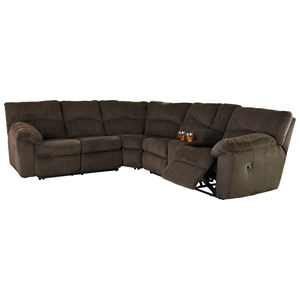 Signature Design by Ashley Hopkinton Reclining Sectional