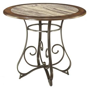 Signature Design by Ashley Hopstand Round Counter Table