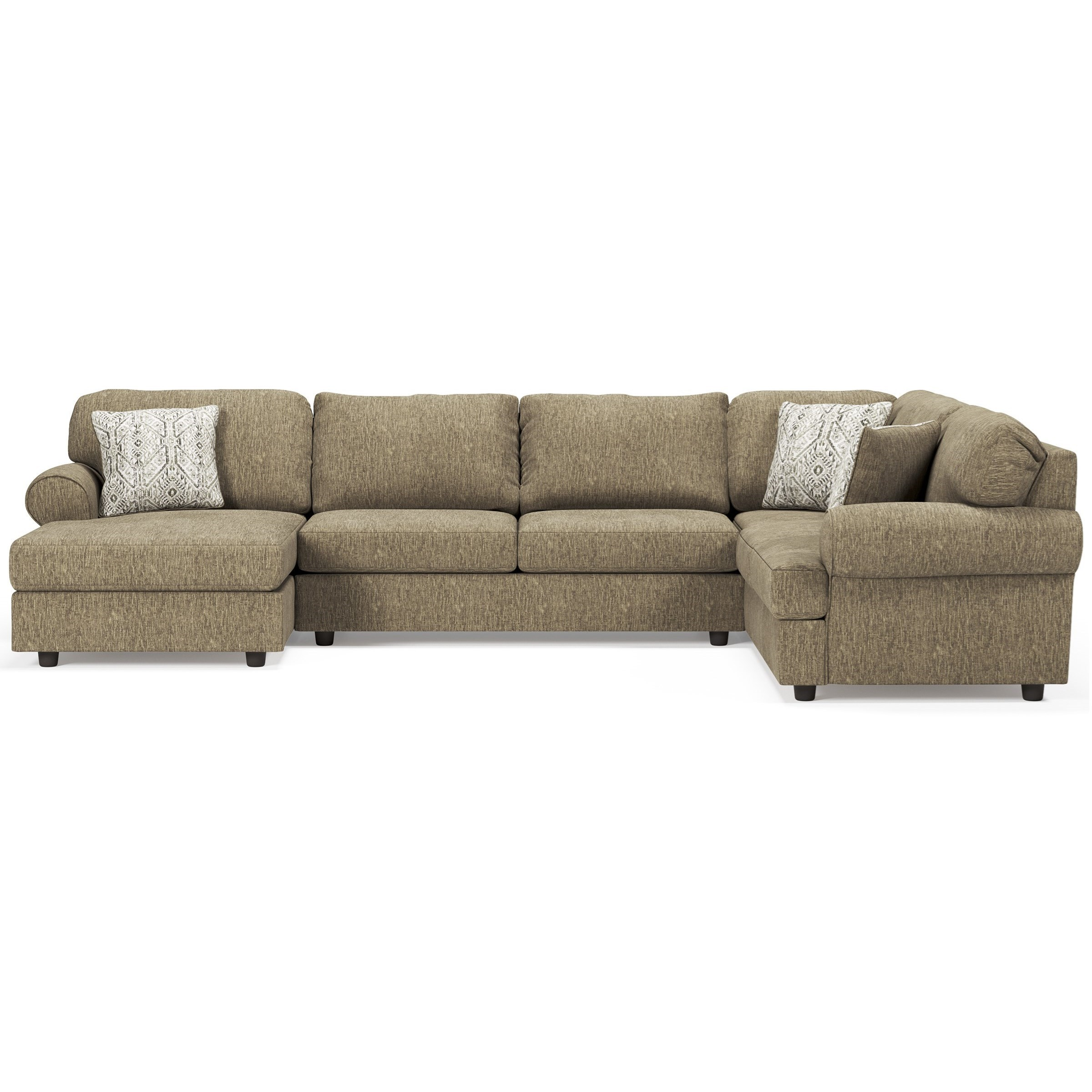 Hoylake 3-Piece Sectional with Chaise by Signature at Walker's Furniture