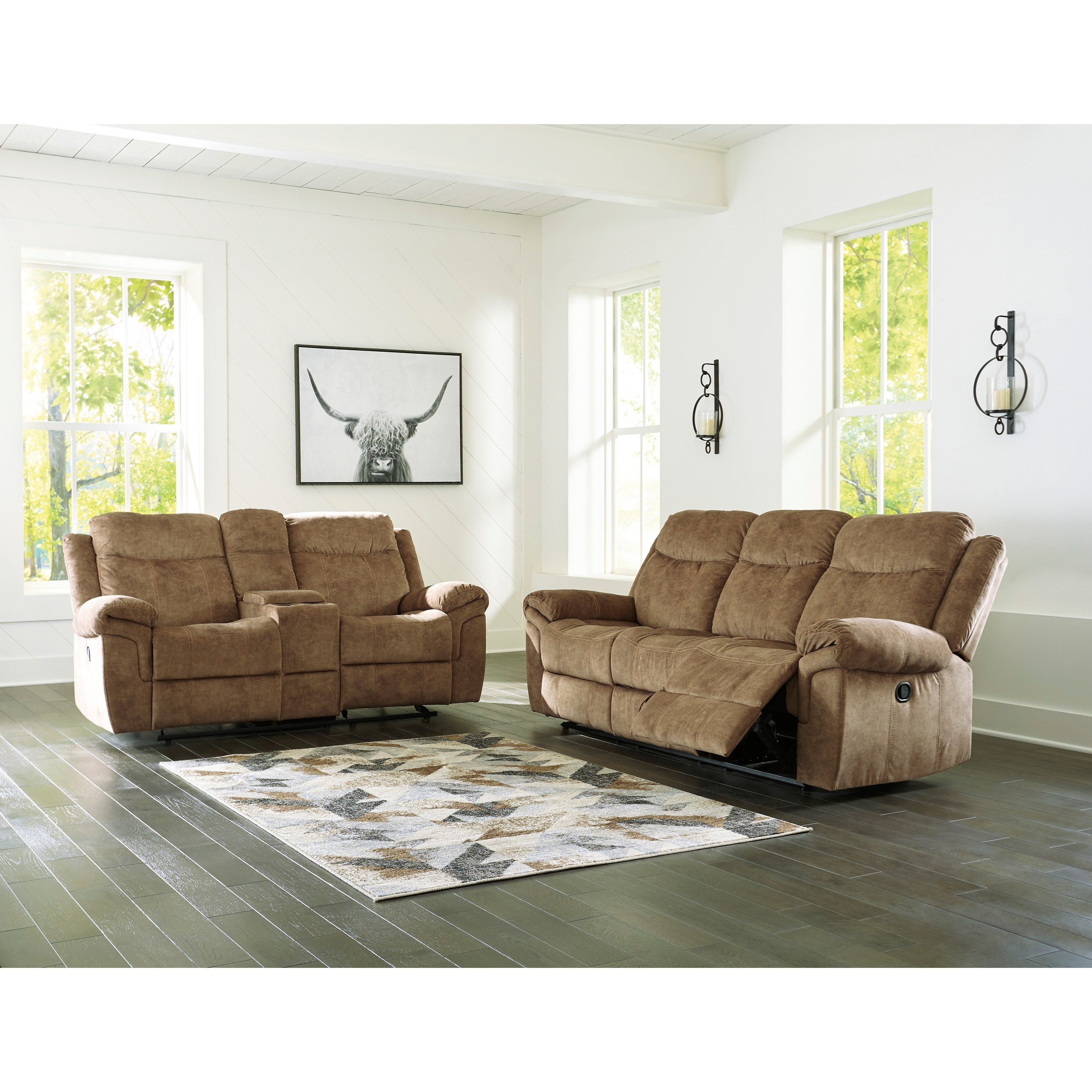 Huddle-Up Reclining Living Room Group by Ashley (Signature Design) at Johnny Janosik